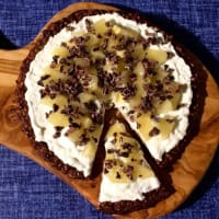 Ricetta correlata of cocoa oats Pizza