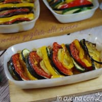 Ricetta correlata Vegetables baked in ginger