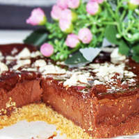 Ricetta correlata Cheesecake dark chocolate