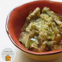 Ricetta correlata Risotto with artichoke cream