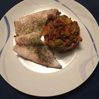 Ricetta correlata Tranci di persico africano con zucchine mediterranee