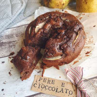 Ricetta correlata vegan cake with pears and chocolate