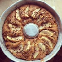 Ricetta correlata Apple pie, nuts and cinnamon without butter