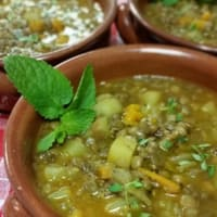 Ricetta correlata Lentil soup and potatoes