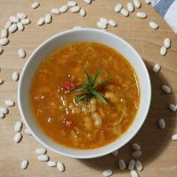 Ricetta correlata Zuppa di fagioli toscani e verza