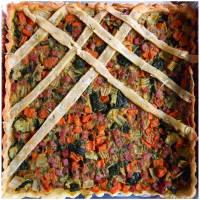 Ricetta correlata Torta salata con zucchine, carote, sedano e pancetta