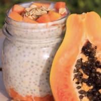 Ricetta correlata Chia pudding alla papaya