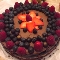 Ricetta correlata Cheesecake double chocolate and berries