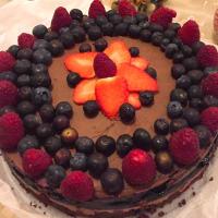 Ricetta correlata Cheesecake al doppio cioccolato e frutti di bosco