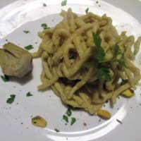 Ricetta correlata Tonnarelli homemade with pistachio sauce and artichokes