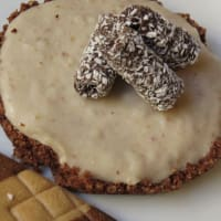 Ricetta correlata Finta cheesecake al biancomangiare