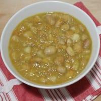 Ricetta correlata Zuppa di fagioli borlotti freschi