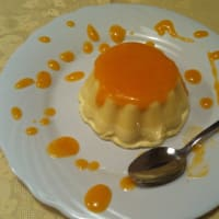 Ricetta correlata Bavarian vanilla with apricot coulis