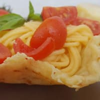 Ricetta correlata Basket of Parmesan and spaghetti