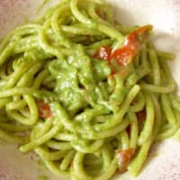 Ricetta correlata Pasta with cherry tomatoes and rocket pesto