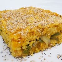 Ricetta correlata Patty millet, squash and leeks