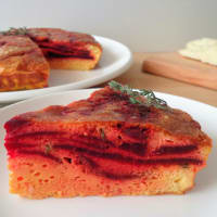 Ricetta correlata Omelet with baked beetroot and pecorino