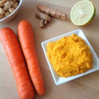 Ricetta correlata Sauce chickpeas, carrots and turmeric
