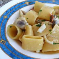 Ricetta correlata Calamarata ai frutti di mare e zafferano