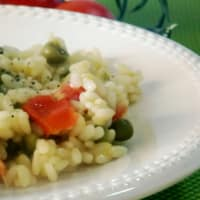 Ricetta correlata Rice with Asparagus, Peas and Tomatoes