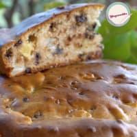 Ricetta correlata VEGAN CAKE pears, apples and chocolate