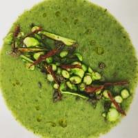 Ricetta correlata Asparagus with creamed leeks and broccoli