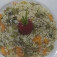 Ricetta correlata Vegan risotto with Secuquick Amc and Navigenio