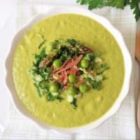 Ricetta correlata Asparagus and pea cream