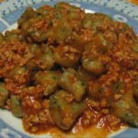 Ricetta correlata Gnocchi con ragù di soia