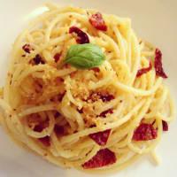 Ricetta correlata Spaghetti con pomodorini al forno