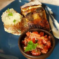 Ricetta correlata Baked pork ribs with potatoes and pebre