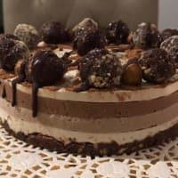 Ricetta correlata La Piemontese: torta vegana crudista