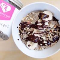 Ricetta correlata Coffee porridge, cashew nut and chia seeds