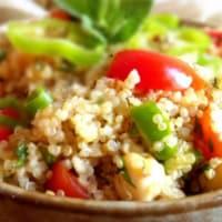 Ricetta correlata Insalata di quinoa e ceci