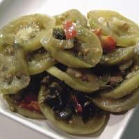 Ricetta correlata Pomodori verdi sott'olio