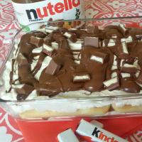 Ricetta correlata Tiramisù Alla Nutella E Cioccolato Kinder