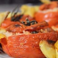 Ricetta correlata Pomodori con riso e patate