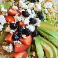 Ricetta correlata Quinoa con avocado e feta