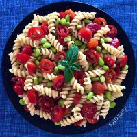 Ricetta correlata Pasta fredda vegan con pomodorini ed edamame