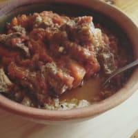 Ricetta correlata Tomaticán con strisce di carne