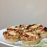 Ricetta correlata Mini torte di mele, cannella e Avena