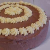 Ricetta correlata Torta con panna e crema diplomatica