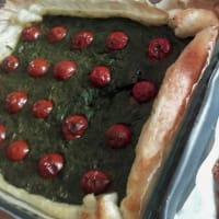 Ricetta correlata Torta salata con spinaci, panna, funghi e pomodorini