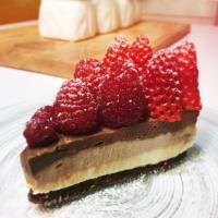 Ricetta correlata Cheesecake ai tre cioccolati