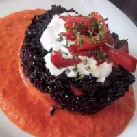 Ricetta correlata Riso venere ai peperoni in agrodolce