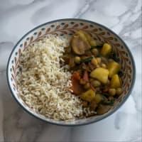 Ricetta correlata Coconut curry vegano