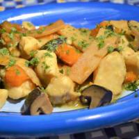 Ricetta correlata Bocconcini di pollo con zucca, funghi shiitake e bambù