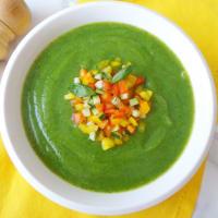 Ricetta correlata Crema alle zucchine e verdure colorate