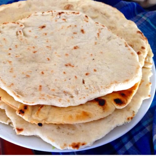 Foto ricetta passaggio Vegan dough for tortillas