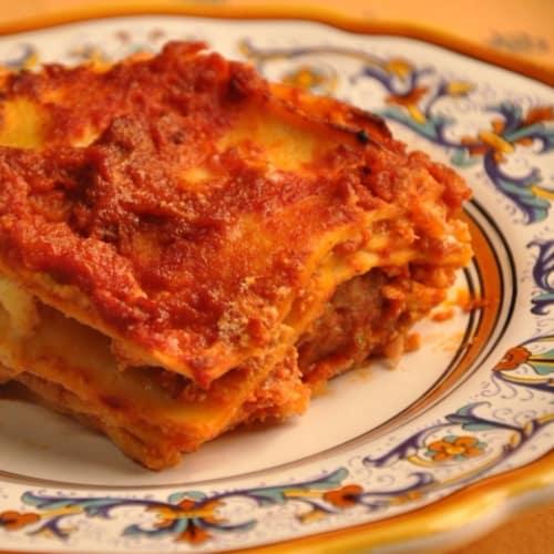 Foto Ricetta Lasagna facile